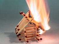 Wohngebäudeversicherung beim Feuerschaden