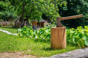 Hausratversicherung für die Geräte im Garten